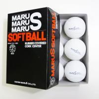 ダイワマルエス ソフトボール検定球2号 (1箱6個入り) MARUS-soft2|web-sports-do