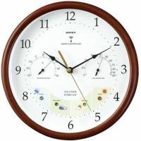 送料無料!  【商品概要】  ◆電波時計  ◆天気予測  ◆温度計  ◆湿度計  ●8〜12時間後の...