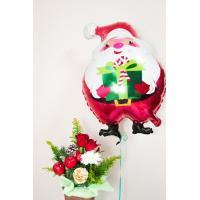 クリスマスにプレゼントする花