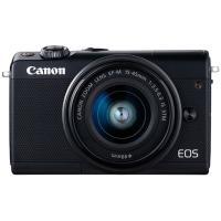 ミラーレスカメラ EOS M100・EF-M15-45 IS STM レンズキット (ブラック)