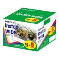 ワイド用カラーフィルム instax WIDE 5パック品(10枚入×5)