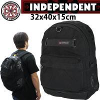 サイドにぐるっとインディペンデントのロゴがプリントされたアピール度満載のバッグ。スケートボードを搭載...