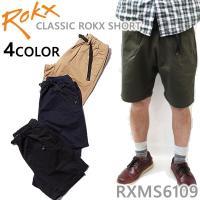 ROKX ショートパンツ CLASSIC ROKX SHORT RXMS6109 ハーフパンツ ロックス ショーツ ショートパンツ