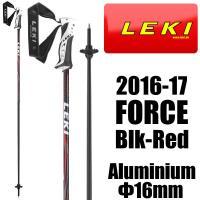 LEKI レキ FORCE フォース スキーストック スキーポール  高い安全性能、最上の快適性能、...