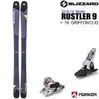ブリザードスキー 2019 BLIZZARD スキー 日本正規品  RUSTLER 9 ラスラー9 ...