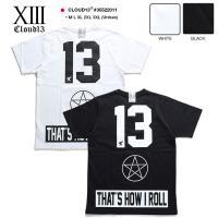 Tシャツ 星 ナンバー クラウドサーティーン CLOUD13