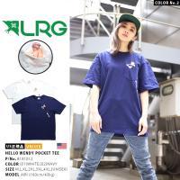 エルアールジー LRG Tシャツ 半袖 ポケット付 美女ヌード ギミック 西海岸 ビッグシルエット USA