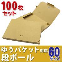ゆうパケット用ダンボール A4 30mm クリックポスト対応 梱包用 100枚セット ダンボール箱 段ボール 日本製