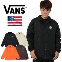 バンズ VANS コーチジャケット ジャケット メンズ Torrey Jacket 耐水性 裏地付き 2019 定番モデル 正規品 USAモデル