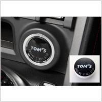 純正交換式ボタンです。 エンジンスタートの瞬間から、特別な車であることを主張するTOMSロゴ入りプッ...