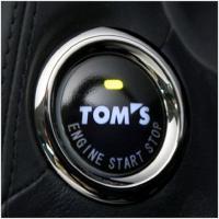 【特徴】 エンジンスタートの瞬間から、特別な車であることを主張するTOMSロゴ入りプッシュスタートボ...