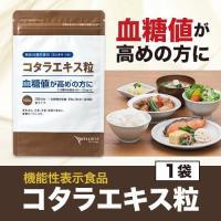 血糖値 サプリ サプリメント コタラヒム サラシア コタラエキス粒(30日分) 機能性表示食品