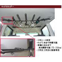 ●アシストグリップが2列目・3列目に装備されている、3列シート車専用 ●ロッド5本まで車載可能 ●7...