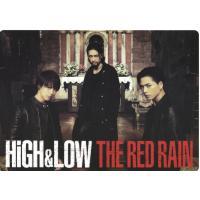 [HiGH&LOW THE RED RAIN] B5したじき  *雨宮3兄弟(雨宮雅貴/TA...