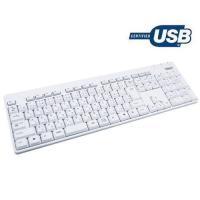 シンプルなUSB接続のキーボードです。ドライバ不要ですぐにおお使いいただけます。
