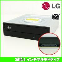 SATA接続のデスクトップ用マルチドライブです。新品のドライブです。  ライティングソフトが付属しま...