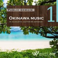BGM CD ヒーリング 著作権フリー 店内 音楽 <名曲>Okinawa music -in acoustic guitar & sanshin-(4021)|whitebgm