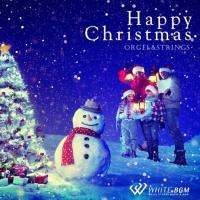 BGM CD イベント 著作権フリー 店内 音楽 <名曲>ハッピークリスマス -オルゴール&ストリングス-(4023)|whitebgm