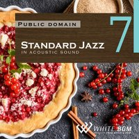 BGM CD 著作権フリー 店内 音楽 <名曲>Standard Jazz 7 in アコースティックギター(4068)|whitebgm