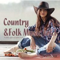 BGM CD 著作権フリー 店内 音楽 Country&Folk Music vol.1(4096)|whitebgm