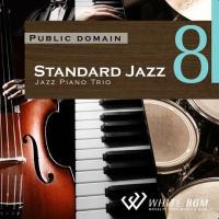 BGM CD 著作権フリー 店内 音楽 <名曲>スタンダードジャズ8 -ジャズピアノトリオ-(4098)|whitebgm