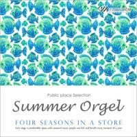 BGM CD イベント 著作権フリー 店内 音楽 夏のオルゴール -Four seasons in a store-(4114) whitebgm
