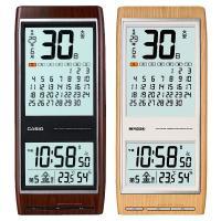 【送料無料】  ひと月分のカレンダーも六曜表示でわかりやすく 時刻合わせ不要おしゃれな電波掛け時計!...