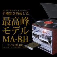 再生はレコード、CD、カセット・テープ、AM/FMラジオ、外部入力機器、さらにSDカード/USBメモ...