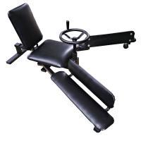 丸いハンドルを操作することで、極限までの開脚運動が可能。  股関節・骨盤のストレッチに!!柔軟な身体...