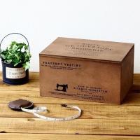 裁縫箱 ソーイングボックス 木箱 ウッドボックス お道具箱 ツールボックス 小物入れ 収納ボックス ...