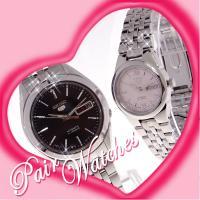 他に勝る技術力の高さで、世界的に認められたSEIKOの自動巻き腕時計。 当店オリジナルペアBOXに入...