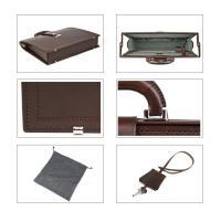 (ファイブウッズ) FIVE WOODSDULLES ダレス 「NARROW」 ダレスバッグ ナロー 本革 ダークブラウン 日本製 メンズ バッグ 39281