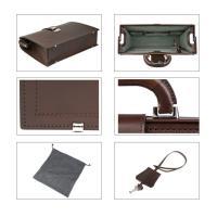 (ファイブウッズ) FIVE WOODSDULLES ダレス 「STANDARD」 ダレスバッグ スタンダード 本革 ダークブラウン 日本製 メンズ バッグ 39282