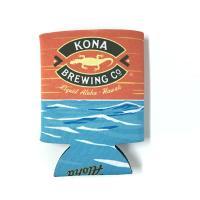 ハワイNo.1クラフトビール「コナビール」オリジナルデザインの缶クージー! ウェットスーツのような素...