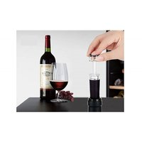 商品説明  ★ 栓とポンプが一体になった構造で、ボトルの口に差込み、ポンピングするだけで、ワインの酸...