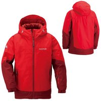 製品説明冬のトレッキングやスキーなど、本格的な使用に適した中綿入りの防水ジャケットです。大人用モデル...