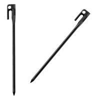 コールマン Coleman  スチールソリッドペグ 30cm ブラック 1pc 2000017188