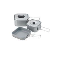 ●本体材質:アルミニウム・アルマイト加工 ●ハンドル材質:ステンレス鋼 ●フライパン材質:アルミニウ...