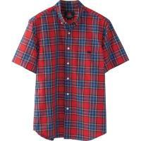 カンタベリーオリジナルのチェックを使用した高密度織りボタンダウンシャツです。単体ではもちろん、ラグビ...