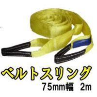 Try-Power 2mベルトスリング75mm幅   荷崩防止に! 引っ越しなど色々な場面で便利に使...