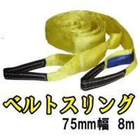 Try-Power 8mベルトスリング75mm幅   荷崩防止に! 引っ越しなど色々な場面で便利に使...