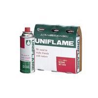 (UNIFLAME)ユニフレーム レギュラーガス 3本 650028