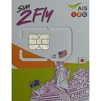 SIM2Fly オーストラリア プリペイドSIM 8日間 4G・3Gデータ通信無制限