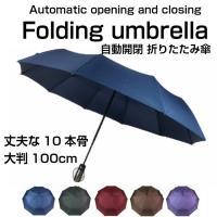 折りたたみ傘 10本骨 シンプル 超撥水 コンパクト メンズ レディース 軽量 日傘 送料無料