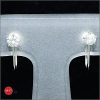 【素材】プラチナ/PT850 【石目】ダイヤ 0.15ct×2 【総重量】約1.4g 【付属品】なし...