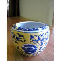 ◆サイズ φ13.5cm (内径10cm)×H10cm ◆材質     陶器  ◆備考     染め...