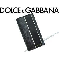 ■ブランド名  DOLCE&GABBANA ■品名  BP1670 型押しレザー2つ折り長財布 小銭...