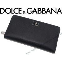 ■ブランド名  DOLCE&GABBANA ■品名  BP1672 ジッパーアラウンド長財布 小銭入...