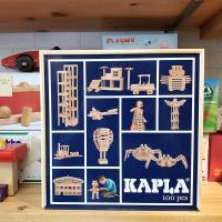 KAPLA カプラ 100  「吸いつくような積みやすさ」は、まるで磁石が入っているよう。すべりにく...