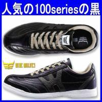 人気の100seriesの黒色、スリム安全スニーカー(作業靴・ot-WW-102)です。 甲被/合成...